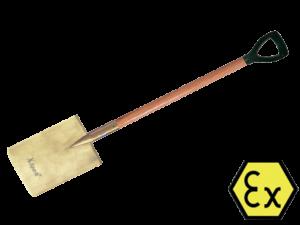 ЛОПАТА ЗАЧИСТНАЯ ИСКРОБЕЗОПАСНАЯ X-SPARK