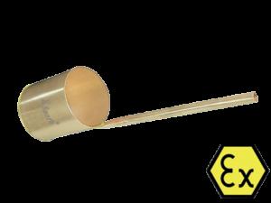 Искробезопасный черпакX-Spark- хозяйственный искробезопасный инструмент, используется для переливания нефтепродуктов.