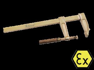 ЗАЖИМ ВИНТОВОЙ ИСКРОБЕЗОПАСНЫЙ X-SPARK